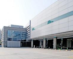 大阪市立北斎場外観