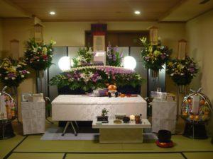 大阪市立北斎場 小式場 祭壇J様