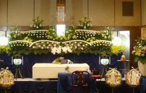 大阪市立北斎場 中式場 祭壇例12