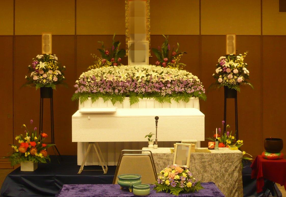 北斎場 中式場 祭壇例