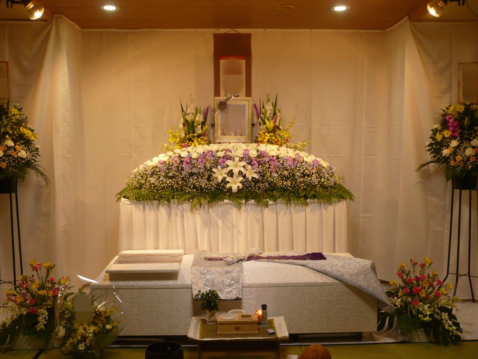 北斎場 小式場 祭壇例