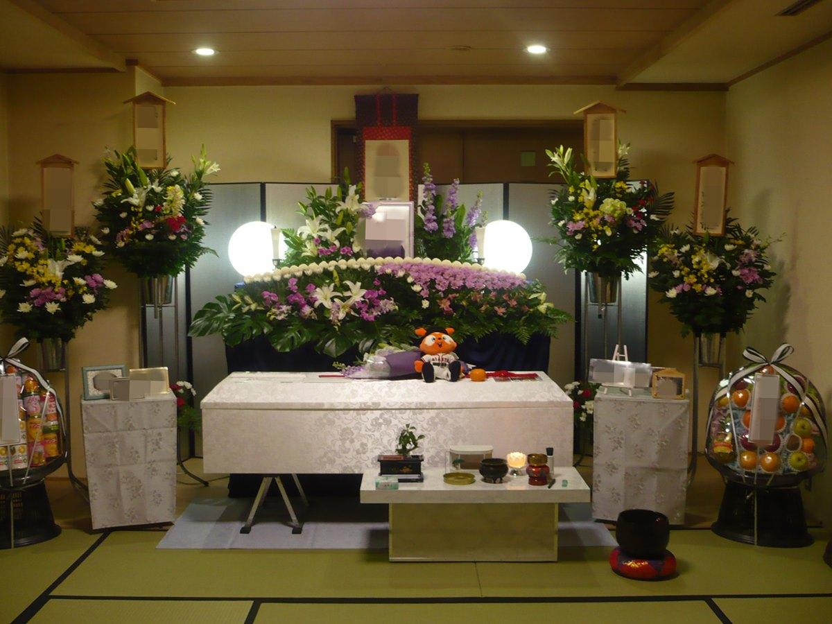 大阪市立北斎場 小式場 葬儀例3