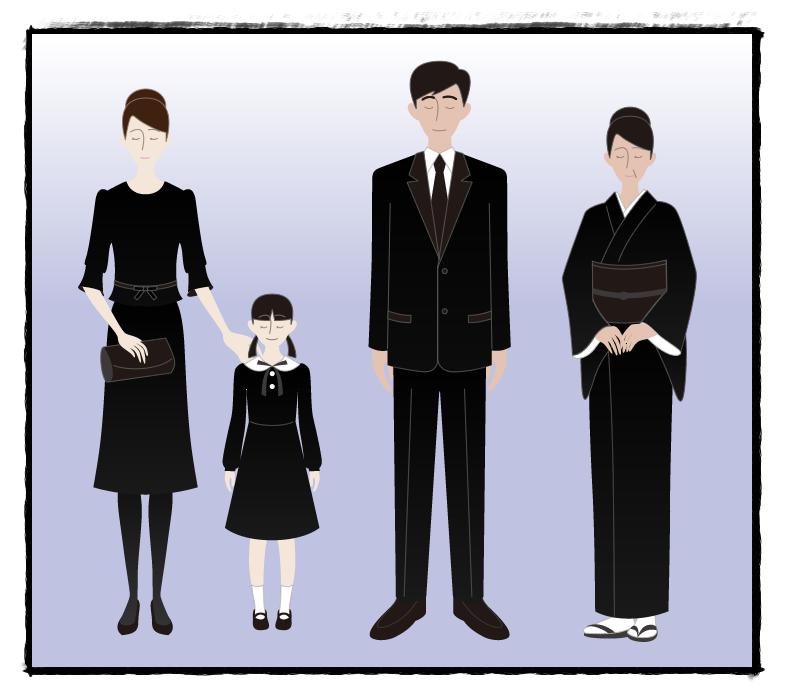 葬儀 子供 服装