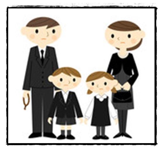 葬儀 子供 学生服