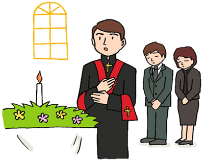 キリスト教葬儀2