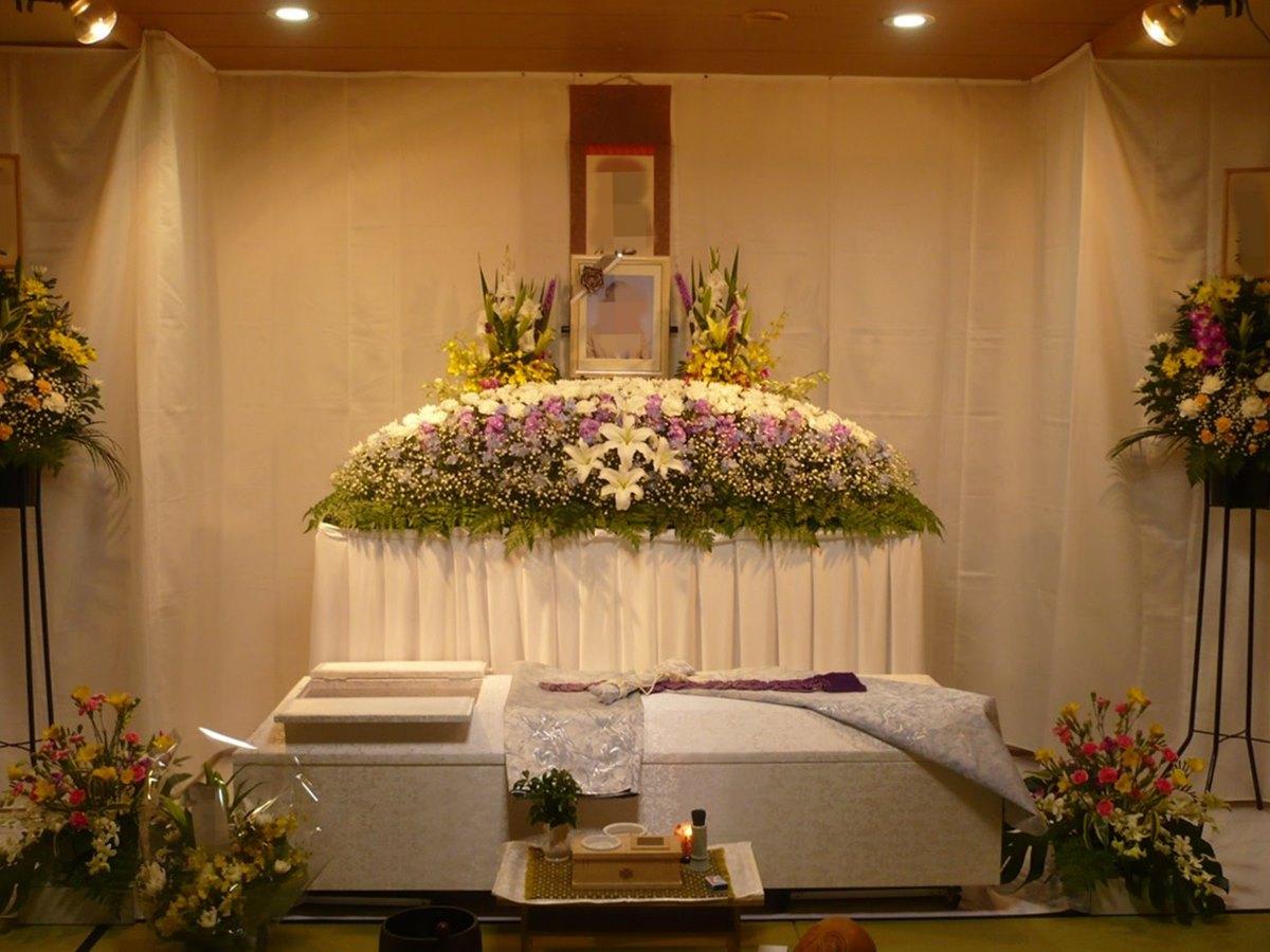 大阪市立北斎場 葬儀例6