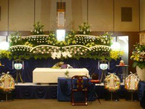 大阪市立北斎場 中式場 葬儀例6