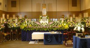 北斎場中式場 葬儀例2