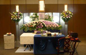 北斎場中式場 葬儀例1