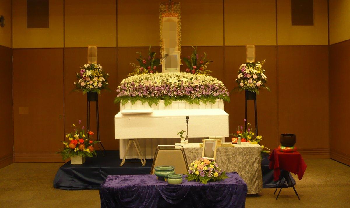 北斎場中式場 葬儀例3